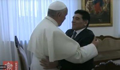 Папата се моли за Марадона, Поетът на футбола (ВИДЕО)