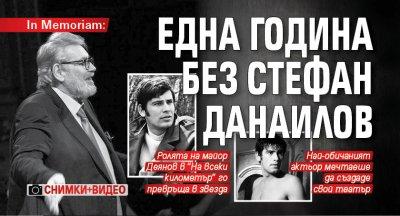 In Memoriam: Една година без Стефан Данаилов (СНИМКИ+ВИДЕО)