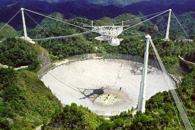 Удар за учените: Рухна най-големият телескоп в света