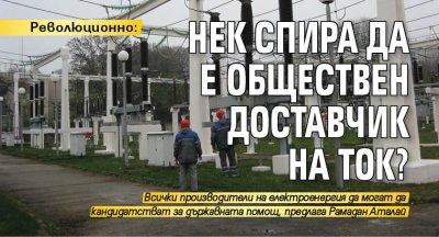 Революционно: НЕК спира да е обществен доставчик на ток?