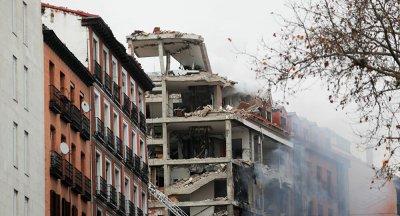 НА МИНУТАТА: Мощен взрив в центъра на Мадрид