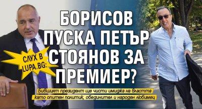Слух в Lupa.bg: Борисов пуска Петър Стоянов за премиер?