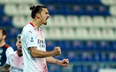Ибракадабра се завърна с гръм и трясък, вдъхнови Милан