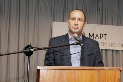 """Официално от """"Дондуков"""" 2: Радев се кандидатира за втори мандат и без БСП"""
