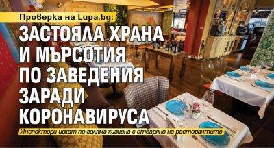 Проверка на Lupa.bg: Застояла храна и мърсотия по заведения заради коронавируса