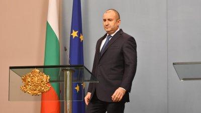 Румен Радев отговори на Бойко Борисов