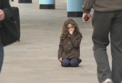 Кошмар: 3-годишно момиченце се изгуби в София