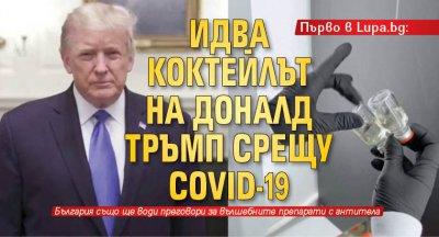 Първо в Lupa.bg: Идва коктейлът на Доналд Тръмп срещу COVID-19