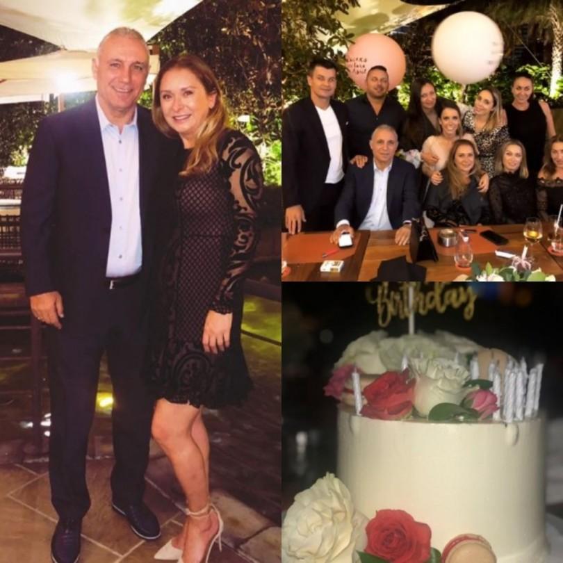 Жената на Стоичков стана на 50, вихри се с Камата в Маями