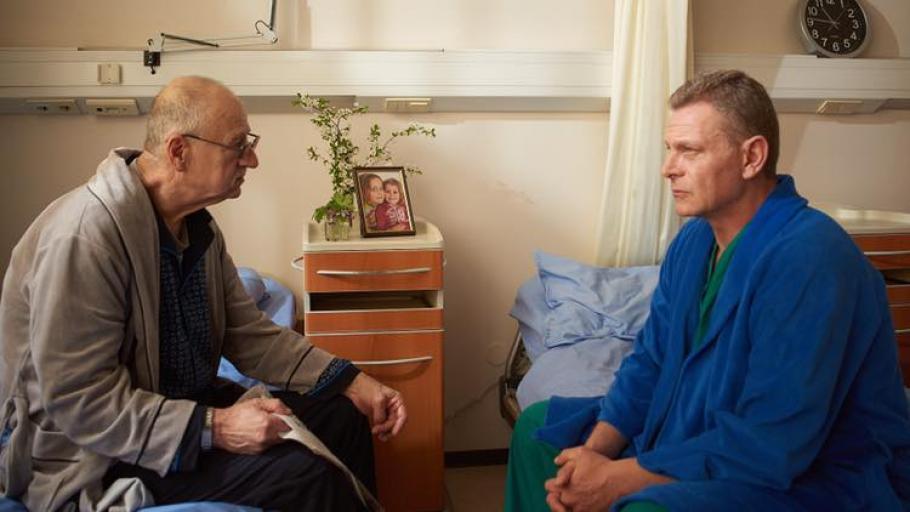 Юлиян Вергов влиза в болница