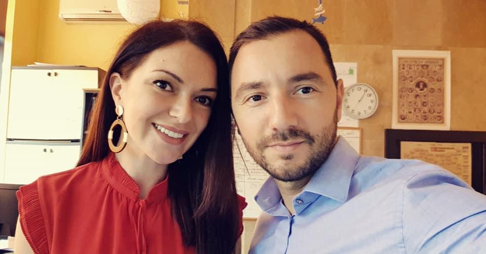 Хекимян празнува ЧРД с Кристина Газиева