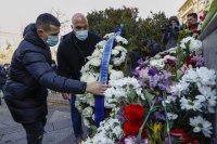 снимка 1 Левскарите почетоха Апостола на свободата (СНИМКИ)