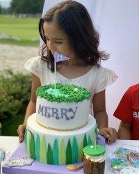 снимка 1 Мария с пищно парти за дъщеря си Марая (Снимки)