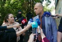 """снимка 1 Командоси и прокурори блокираха квартал """"Симеоново"""""""