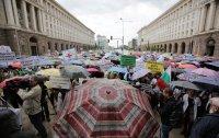 снимка 5 Лекари и медсестри протестират пред МС