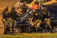 снимка 1 Украински паравоенни формирования окървавили Минск?