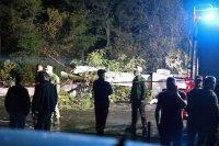 снимка 12 Потресаващи кадри от падналия самолет в Украйна (СНИМКИ И ВИДЕО)